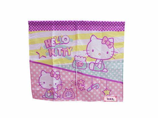 【真愛日本】14073100003 中門簾-趣味 三麗鷗 Hello Kitty 凱蒂貓 門簾 簾子 窗簾 布簾 正品