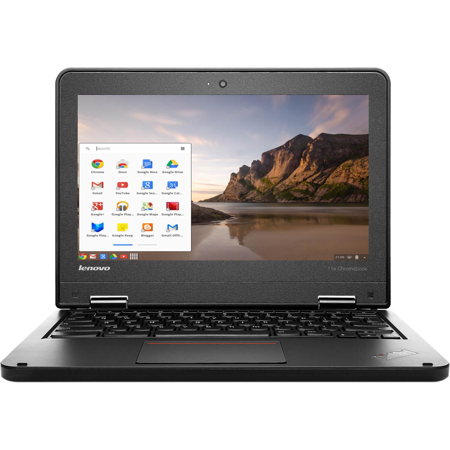 "Lenovo ThinkPad 11.6"" Chromebook Laptop Intel Celeron Quad Core 1.83GHz 16GB 4GB 0"