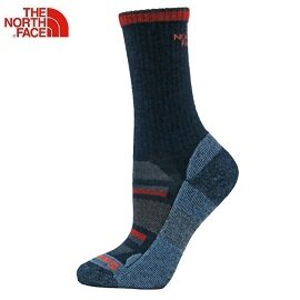 [ THE NORTH FACE ] 中性 SW輕量舒適長筒襪 藏青 / 公司貨 NF0A3CNPZND