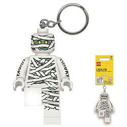 【 LEGO 樂高積木 】LED 燈鑰匙圈 - 木乃伊