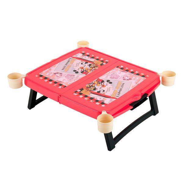 日本必買 免運/代購-日本製/迪士尼/米老鼠/米妮/野餐摺疊桌/野餐桌/露營桌