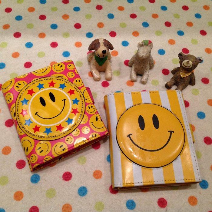 =優 =大頭笑臉 微笑立體 短夾 卡通微笑 微笑皮夾造錢包 零錢包 證件包