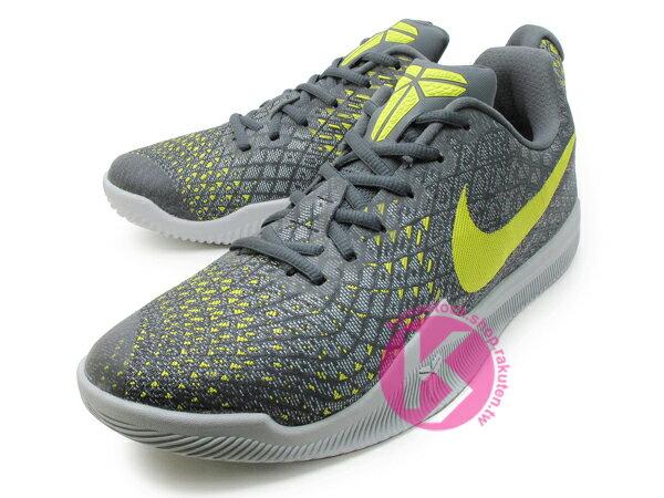 2017 最新款 Kobe Bryant 代言子系列 中價位籃球鞋 NIKE MAMBA INSTINCT EP 低筒 灰芥末黃 HYPERFUSE 透氣鞋面 緩震鞋墊 籃球鞋 湖人 KB MENTALITY 後繼款 (884445-003) 0117 1