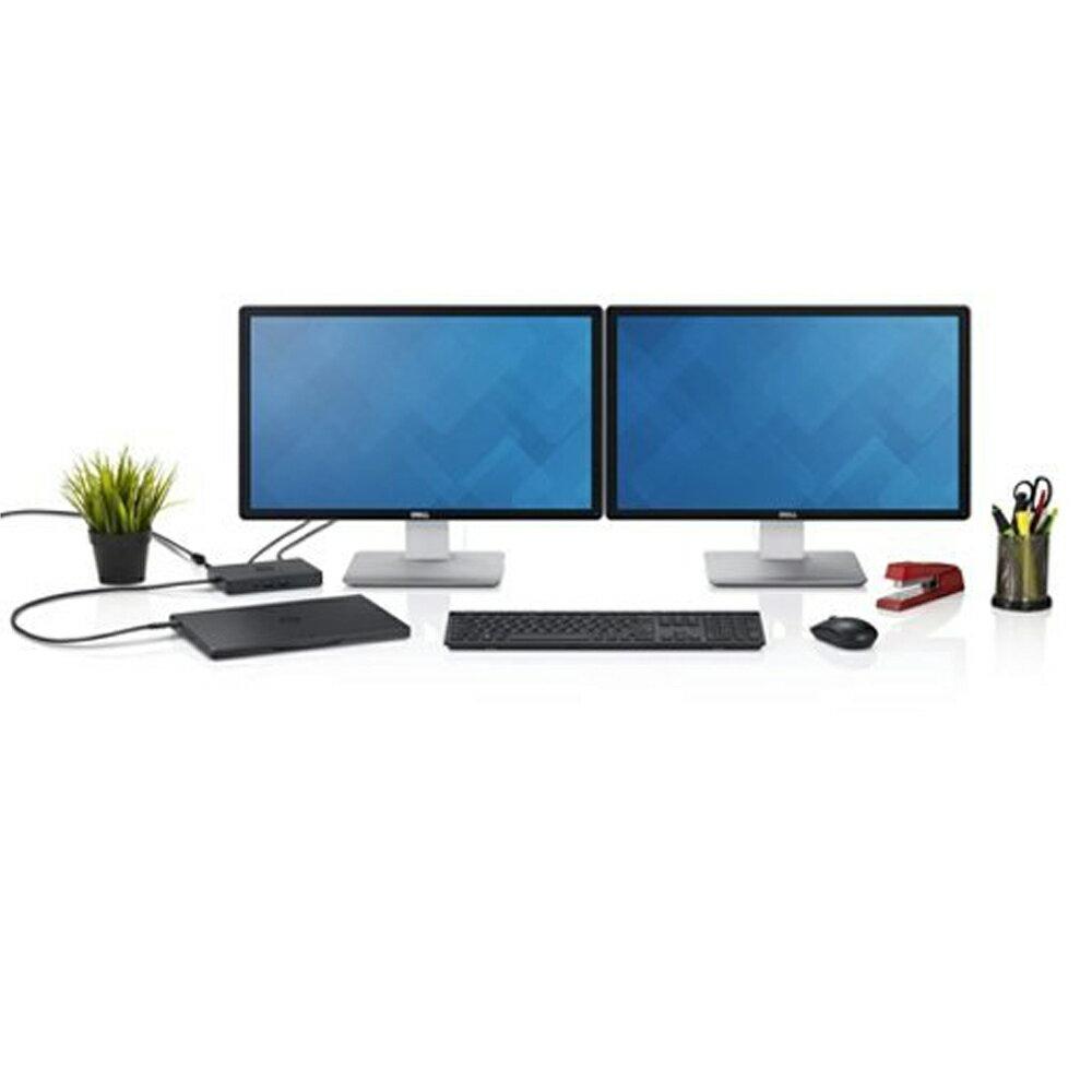 Dell WD15 Monitor Dock 4K with 180W Adapter, USB-C, (450-AEUO, 7FJ4J, 4W2HW)