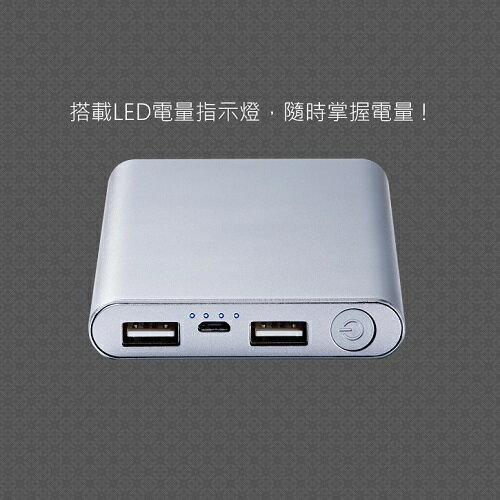 MINIQ 10000mAh 雙輸出行動電源MD-BP-036(玫瑰金) [大買家] 3