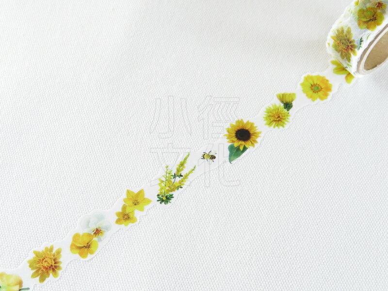 ~小徑文化~  Yano design 和紙膠帶 花系列 ~ yellow ^( YD~M
