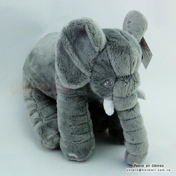【UNIPRO】灰色大象絨毛娃娃玩偶