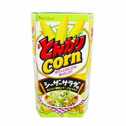 敵富朗超巿:[敵富朗超市]HOUSE牛角玉米餅-凱薩沙拉風味(賞味期限2018.02.22)