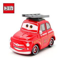 【日本進口正版商品】TOMICA 多美小汽車 救火版 卡布 消防車 汽車總動員 迪士尼 DISNEY - 489016