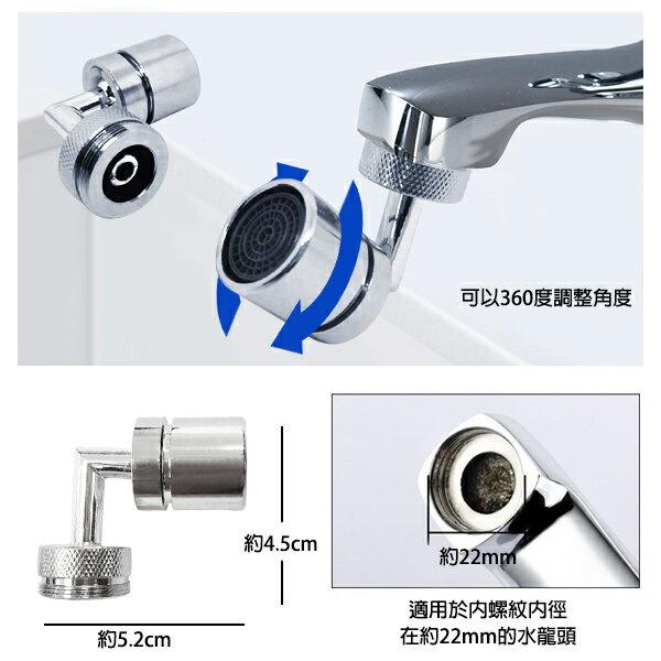 特殊規格360度起泡器 適用21.5-22mm內牙洗臉神器 省水龍頭濾水器 居家廚房用品 贈品禮品