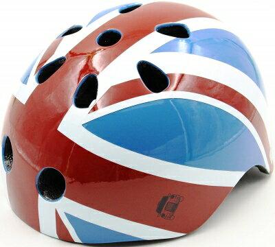 守護寶貝好安心 London Taxi KickBike 幼兒安全帽-英國國旗
