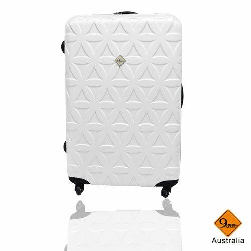 Gate9花花系列ABS霧面28吋輕硬殼旅行箱 / 行李箱 0