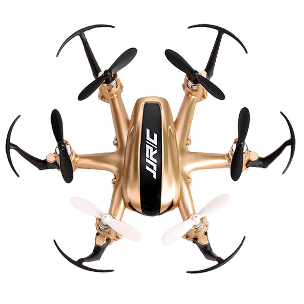 JJRC H20 2.4G 4CH 6-Axis Gyro Nano Hexacopter RTF Quadcopter Gold TXST 0