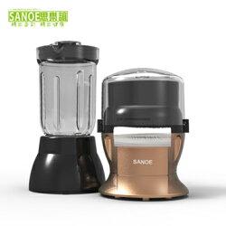 【獨家限量新色】思樂誼 SANOE 生機食品料理機(二合一) P302 琥珀銅 公司貨 免運費