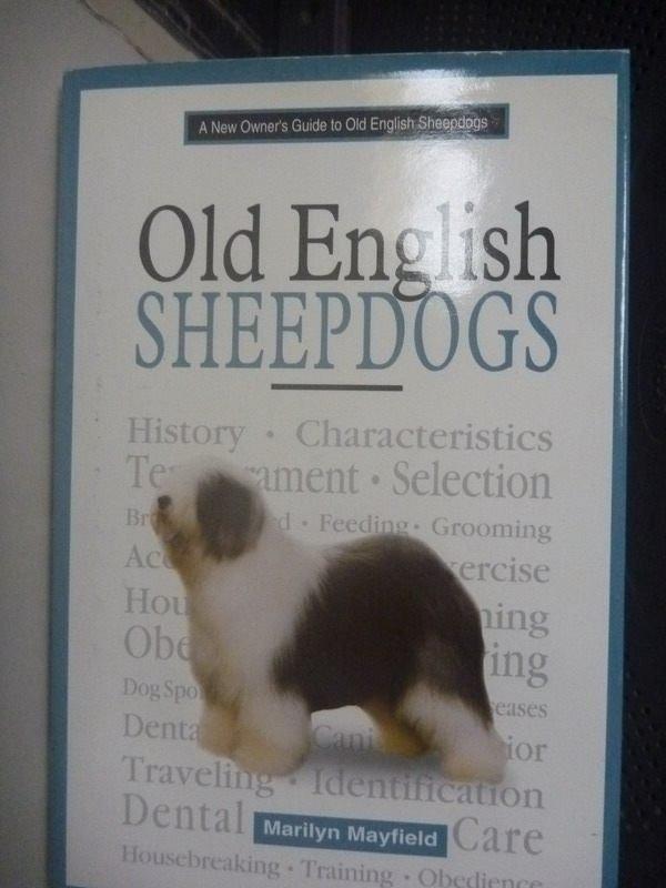 【書寶二手書T8/寵物_ZEM】A New Owners Guide to Old English
