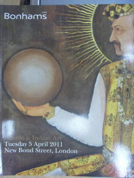 【書寶二手書T1/收藏_XCW】Bonhams_Islamic&Indian Art Lot 322_2011/4/5