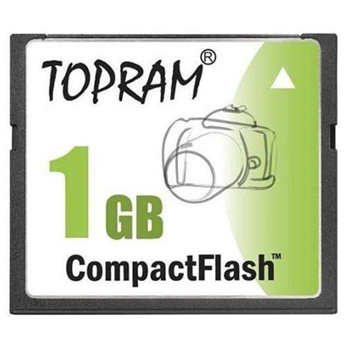 TOPRAM 1GB 1G CF SLC CompactFlash Compact Flash Memory Card 0