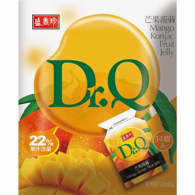《盛香珍》Dr. Q 芒果蒟蒻 265gX10包入(箱)
