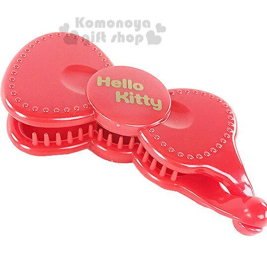 〔小禮堂〕Hello Kitty 香蕉夾~紅蝴蝶結~甜美可愛