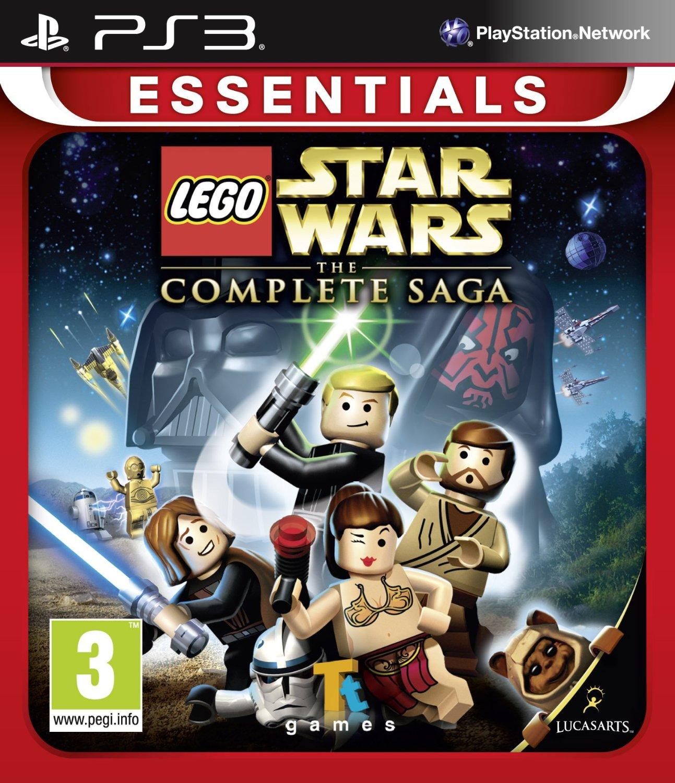 PS3 樂高星際大戰武林大會(含數十種人物載具技能密碼) Lego Star Wars The Complete Saga -英文版-