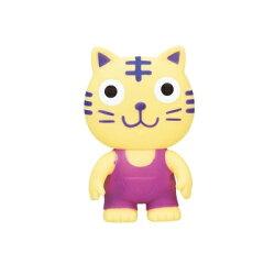 日本【ToyRoyal 樂雅】軟膠玩具-老虎