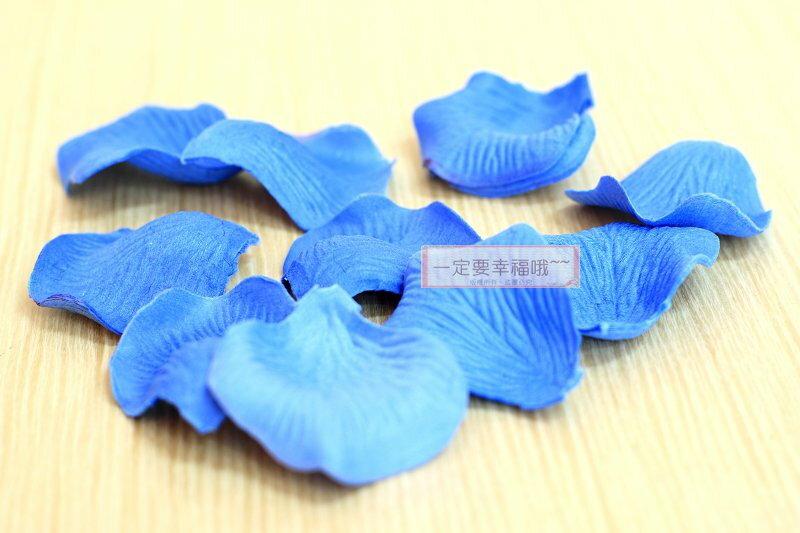 一定要幸福哦~~玫瑰花瓣(藍)~~(1包有144片~)、二次進場,花童籃
