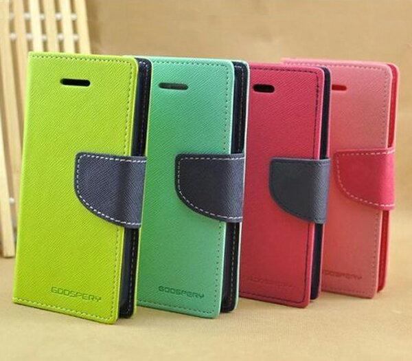 ☆三星 Galaxy Core i8262  韓國水星 撞色系列手機皮套 i8260 雙色皮 支架插卡皮套【清倉】