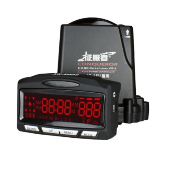 最新版 一鍵更新 ! 征服者XR 5008 超強GPS全頻雷達測速器☆鑫晨汽車百貨☆