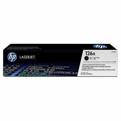 【HP 碳粉匣】HP  CE310A 原廠黑色碳粉匣