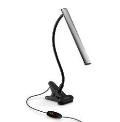 Esense 鋁合金USB 護眼檯燈 UTD100 桌燈 LED燈 夾燈 工作燈 可調式燈 燈具 色溫調控 亮度調控【迪特軍3C】