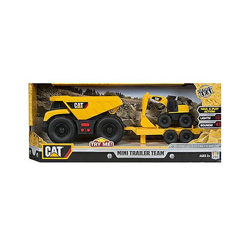 《 CAT - 玩具車 》迷你拖吊車系列 - 挖土機