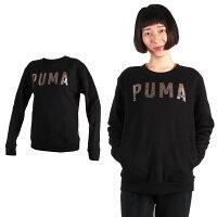PUMA運動品牌推薦PUMA運動鞋/慢跑鞋/外套推薦到PUMA 女基本系列內刷毛長袖圓領T恤 (長T 長袖上衣 慢跑【03370797】≡排汗專家≡