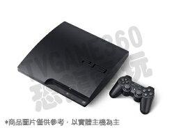 【二手主機】PS3 3007 黑色主機 160G 附原廠無線手把+HDMI線+電源線【台中恐龍電玩】