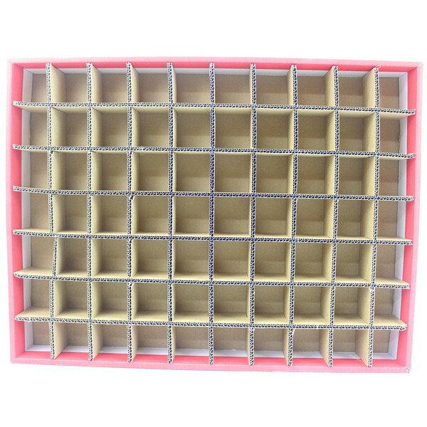 70孔DIY洞洞樂空殼洞洞樂空盒(紙盒)一件14個入{促250}托洞戳戳樂空盒~全