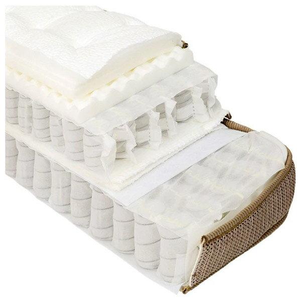 ◎獨立筒彈簧床 可拆式雙層床墊 N-SLEEP P1-CR 雙人加大 NITORI宜得利家居 8