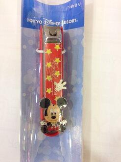 【真愛日本】14121900053 樂園限定-防菌指甲剪MK 米奇 迪士尼 指甲剪 清潔 生活用品 迪士尼帶回