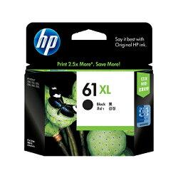 HP 原廠黑色高容量墨水匣 CH563WA 61XL 適用 HP Deskjet 1050/1000/1010/1510/2000/2050/2510/2540/3000/3050