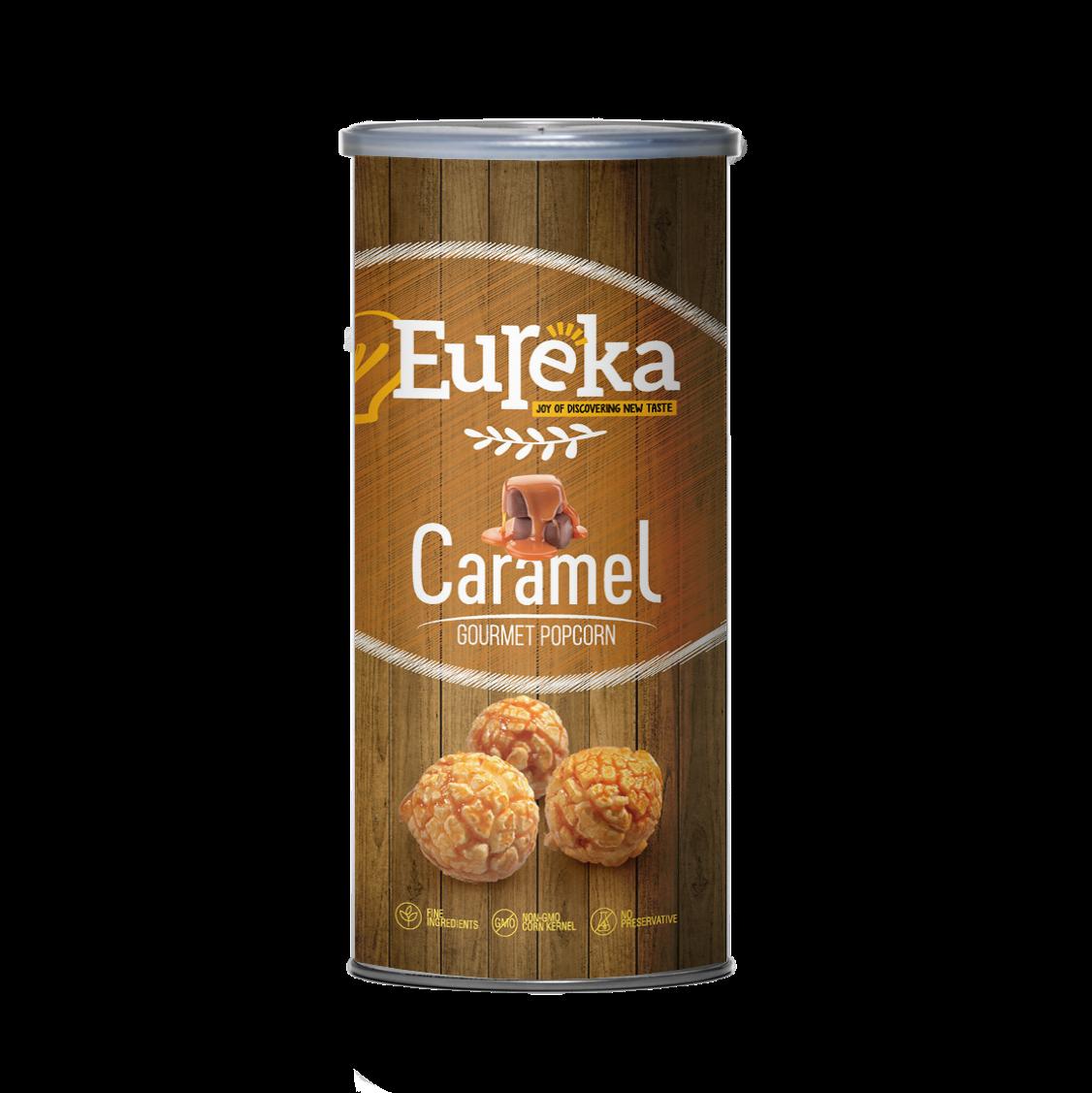 焦糖 -【EUREKA爆米花】★70克派對罐★團購派對聚餐首選零食