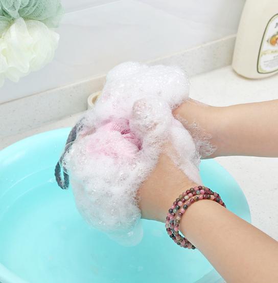 沐浴球 搓背沐浴球 起泡網 起泡球 雙色沐浴球
