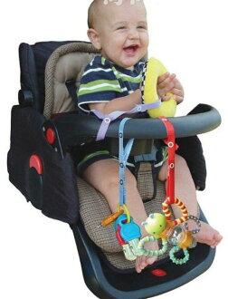 La Vie防掉帶 玩具固定帶 玩具綁帶 奶嘴吊帶 背巾 手推車 餐椅皆適用 花色可愛 不挑款