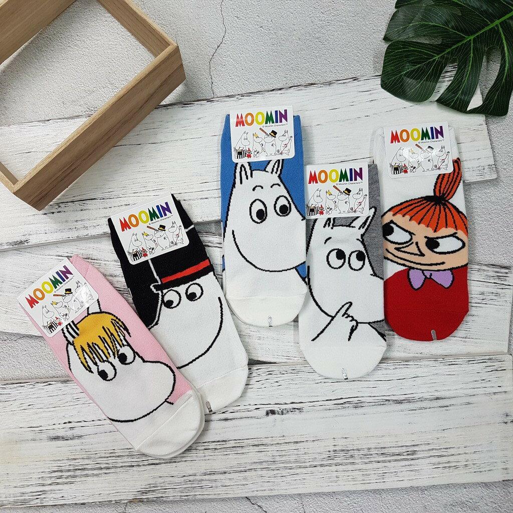 【卡通短襪】韓國襪 嚕嚕米滿版大圖短襪 5