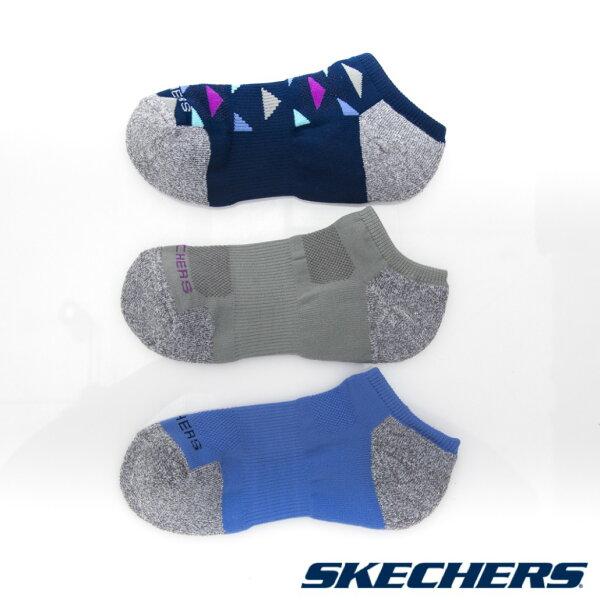 陽光運動館:[陽光樂活]SKECHERS女運動短襪透氣超細纖維S108798-460