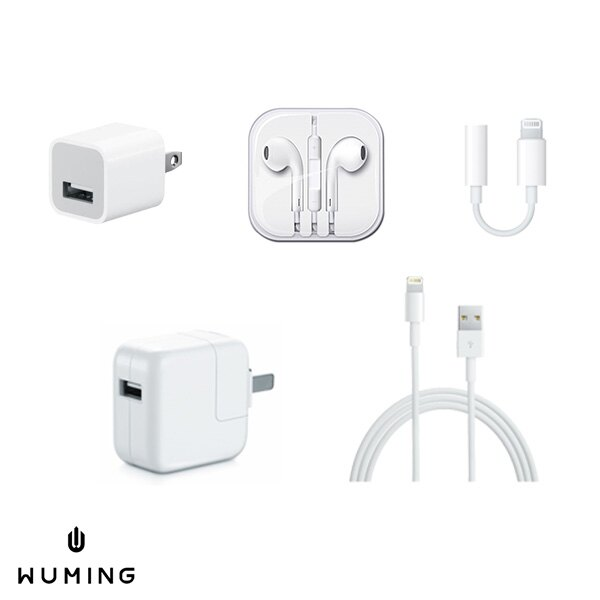 Apple 原廠旅充組 原廠旅充頭 + 充電線 廠傳輸線 iPhone XS XR Max iX i8 Plus iPad mini 『無名』 P06105