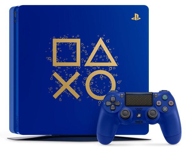 現貨供應中公司貨一年保固[PS4主機]PlayStation4DaysofPlay特仕薄型台灣專用機+真三國無雙8中文版