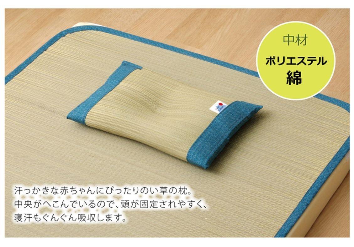 日本IKEHIKO夏日涼感枕頭 / 天然無染 / 九州藺草涼枕 / 枕頭 / 30×20cm / 。2色-日本必買 日本樂天代購(1752*0.2)。滿額免運 1