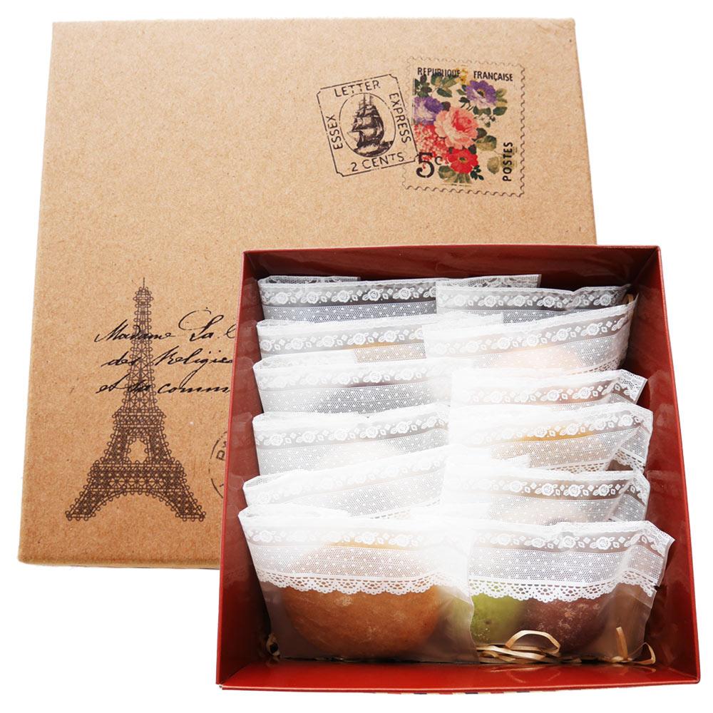 A.手工餅乾 巴黎 戀愛假期-獨享禮盒 | 情人節甜點推薦 0