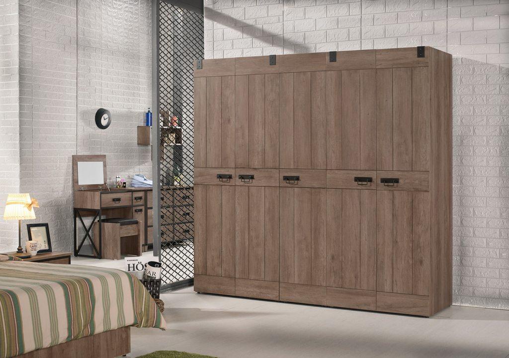 【尚品家具】CM-612-1 哈珀6.7尺組合衣櫥