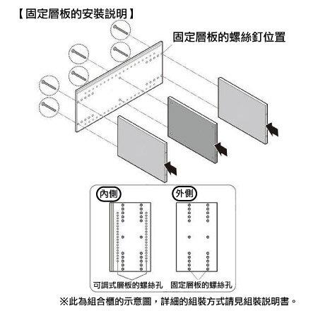 【DIY】45cm彩色櫃 五格櫃 COLOBO 45-3SH-WH NITORI宜得利家居 8