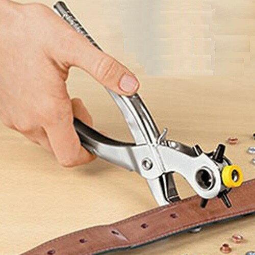【多功能打孔器】皮帶打孔器 洞眼鉗 打孔器 皮帶 鞋帶 穿孔 鉚釘 釘扣