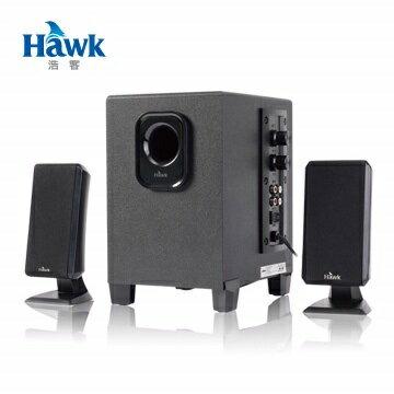 HawkS811戰鼓2.1聲道多媒體喇叭